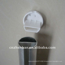 roller blinds component,bottom rail end cap-plastic end cap for roller blinds