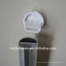 Componente de persianas, tampa de extremidade do calha inferior-tampa de plástico para persianas