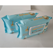 Skin-friendly wet wipes for baby