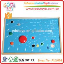 Montessori map Herramientas educativas
