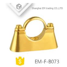EM-F-B073 Wandbefestigung mit zweifachem Druckguss Messing-Hängerohrklemme