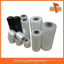 Matériel d'emballage en plastique fournisseur de porcelaine film élastique transparent avec haute extension pour l'emballage de protection