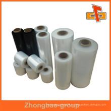Пластиковый упаковочный материал поставщик фарфора прозрачная стретч-пленка с высоким растяжением для защитной упаковки