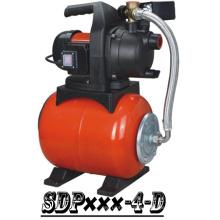 (SDP800-4-D) Bomba de jardín Booster con tanque de acero
