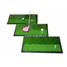 Estera portátil de la práctica del golf del oscilación del golf que golpea la estera de la práctica con la base de goma