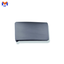 Auto lock stainless belt buckle blanks