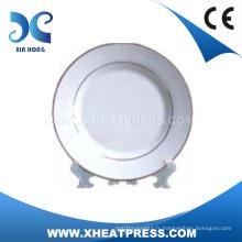 8′′ de bonne qualité blanc plaque de céramique pour l'impression