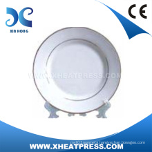 Good Quality 8′′ White Ceramic Plate for Printing