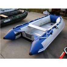 Barco de pesca inflable de goma PVC