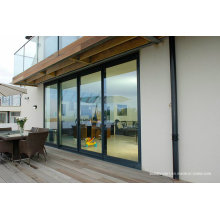 Flat Surface Sill Double Glass Aluminium Windows and Doors
