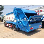 DONGFENG Duolika 6CBM Garbage Compactor Truck