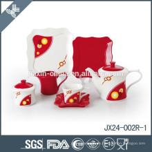 Umweltfreundliches Qualitäts-kundenspezifisches chinesisches keramisches Teesatz der Großhandelsqualität