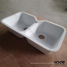 Maßgeschneiderte eingebaute Abtropffläche Spüle / antike Küchenspülen