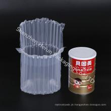 Sacos plásticos transparentes da coluna do ar de dez colunas para o leite 900g pulverizado
