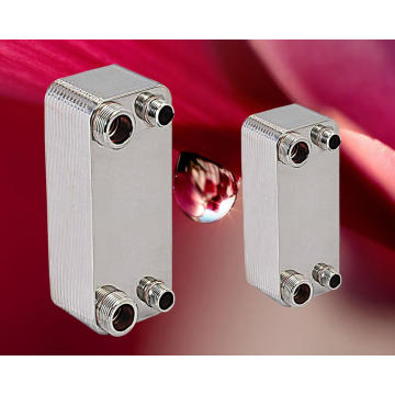 Intercambiador de calor de placas soldadas de acero inoxidable AISI 316/304 para agua solar