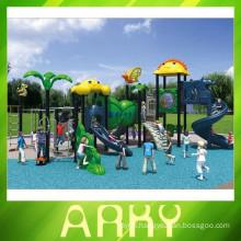 2015 hot children like colorful outdoor animal playground equipment