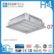 Luzes Recessed diodo emissor de luz de 80W IP66 com a microplaqueta de SAA Lumileds 3030