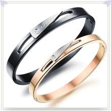 Bracelet de mode à bijoux en acier inoxydable design (BR350)