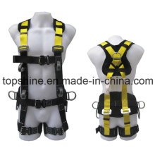 Protective Security Industrial Polyester Adjustable Professional Full-Body Harness Safety Belt