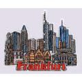 Франкфуртский вышитый патч, герб, значок