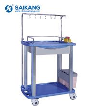 Trole médico dos cuidados da ambulância do hospital do ABS SKR054-IV01