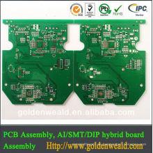 Hochfrequenz-Leiterplatte PCB-Hersteller doppelseitige Leiterplatte