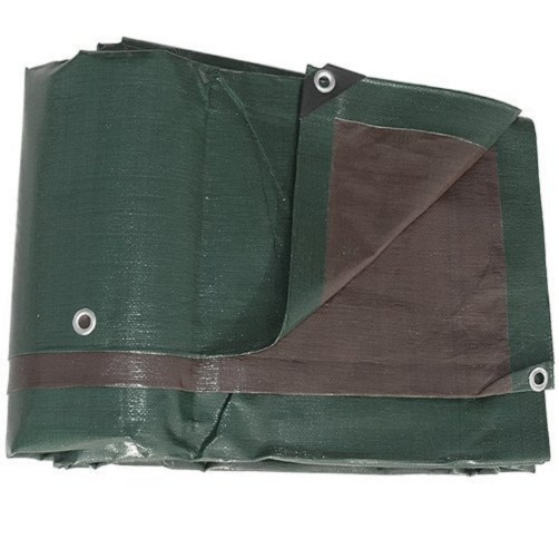 Brown heavy duty waterproof PE Tarpaulin