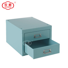 Student Furniture Metal Drawer Storage Box With 3 Drawers On The Desk