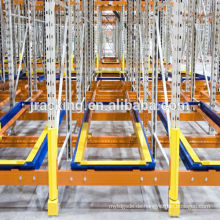 Warehouse-Palette Push-Back-Rack-System, Durable Racking / Metall-Regal / Lagerregal / Lager drücken Lagerregale zurück