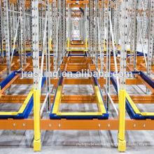 El sistema de estante posterior del empuje de la plataforma de Warehouse, estante durable / estantería del metal / estante del almacenamiento / Warehouse retracta los estantes del almacenamiento
