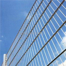 European high security prestige mesh double horizontal fence