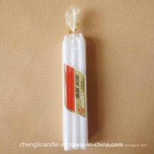 6PCS Poly Bag Verpackung Jemen weiße Kerze