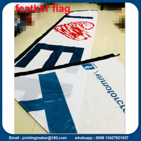 13 Feet 100% Polyester Knife Flying Flags