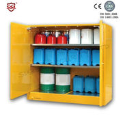 45 Gallon Heavy Duty Steel Chemical Equipment Storage Cabinets Anti Corrosion