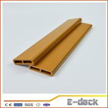 Eco-friendly reciclado de alta qualidade Wpc oco decking para piso ao ar livre