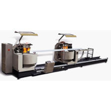 Kt-383f/Dg Aluminum Curtain Wall CNC Double Mitre Cutting Machine (for compound angle)