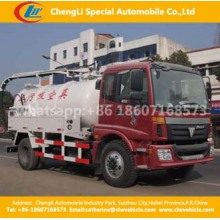 4X2dongfeng 8cbm Fecal Sweage Sludge Suction Truck