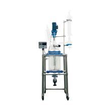 Manufacturer Direct Selling 10L Chemical Lab Equipment Jacketed Glass Reactor