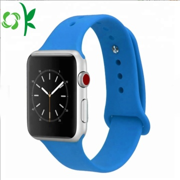 Enkel Apple Sports Iwatch Wristbands Silikon Watch Bands