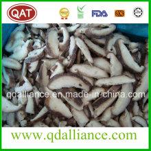 IQF Sliced Shiitake Mushroom with Gap Certificate