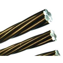 Cable de acero galvanizado trenzado (GSW) / alambre estático