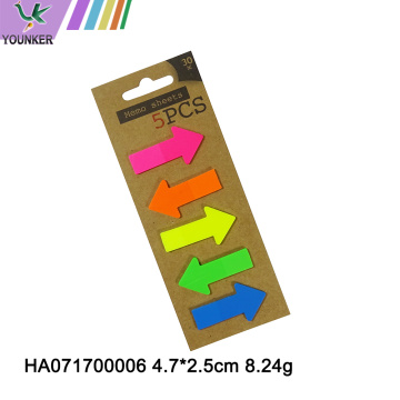 Neue Memory Sticky Notes Helle Farben