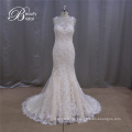 Wunderschöne Tiefe Taille Lace Wedding Dress Muster