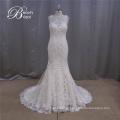 Padrões de vestido de casamento lindo laço caiu