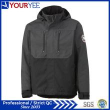 Prácticamente la moda de dos tonos aislamiento de poliéster impermeable abrigos (yfs113)