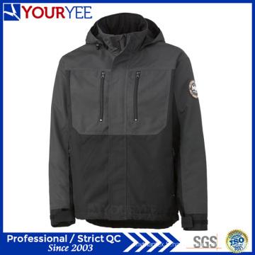 Pratiquement Fashion Two Tone Polyester Insulation Waterproof Coats (YFS113)