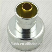 Washer machine hose threaded coupling