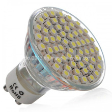 Dimmable GU10 Lâmpada LED Light Spot Lampen 60 3528 SMD 4500k