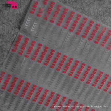 Diseño de múltiples colores de la etiqueta de la transferencia de calor de la impresión de la pantalla