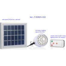 Maravilloso diseño Solar LED Lámpara de iluminación con control remoto